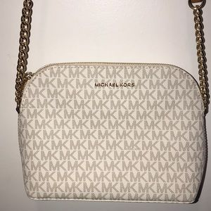 Michael Kors White Label Crossbody Never Used